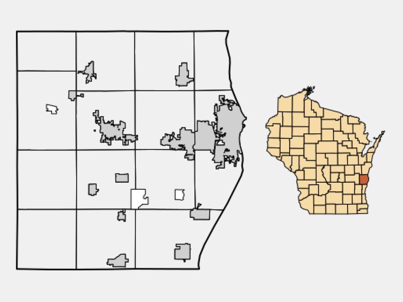 Sheboygan Falls location map