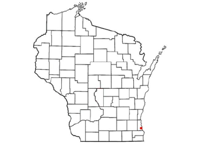 South Milwaukee locator map