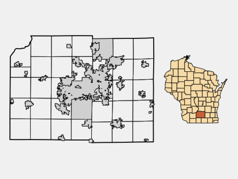 Stoughton locator map