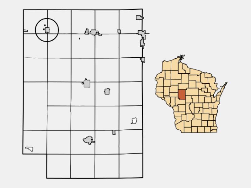 Thorp locator map