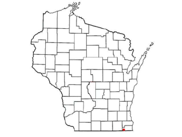 Twin Lakes locator map