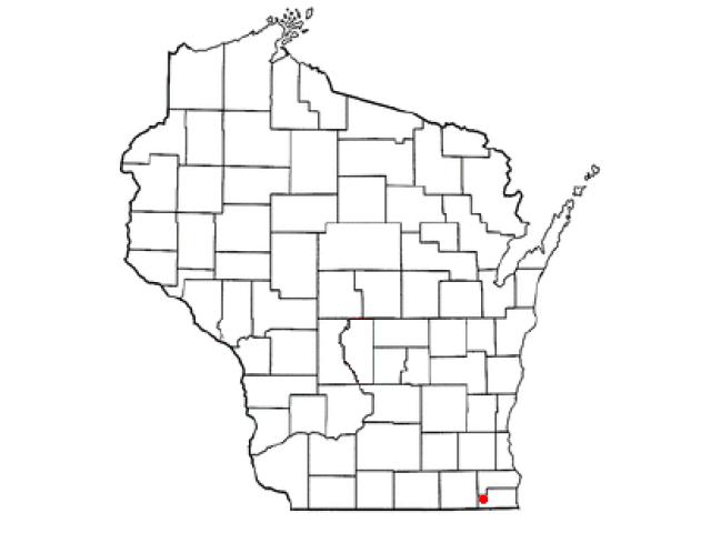 Wheatland locator map