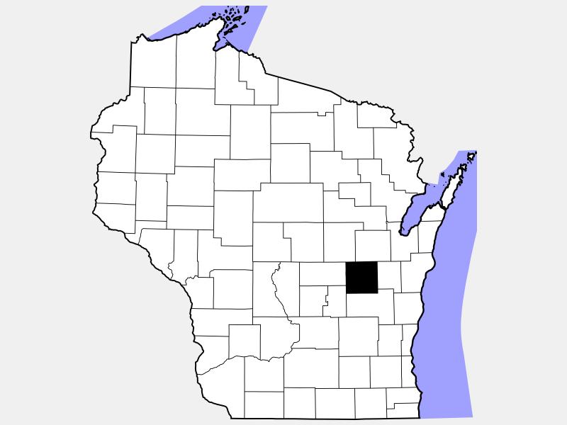 Winnebago County locator map