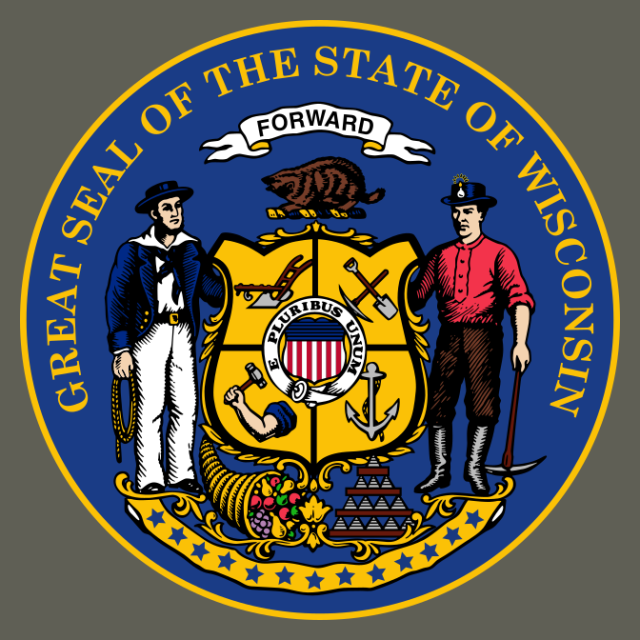 Seal of Wisconsin seal image