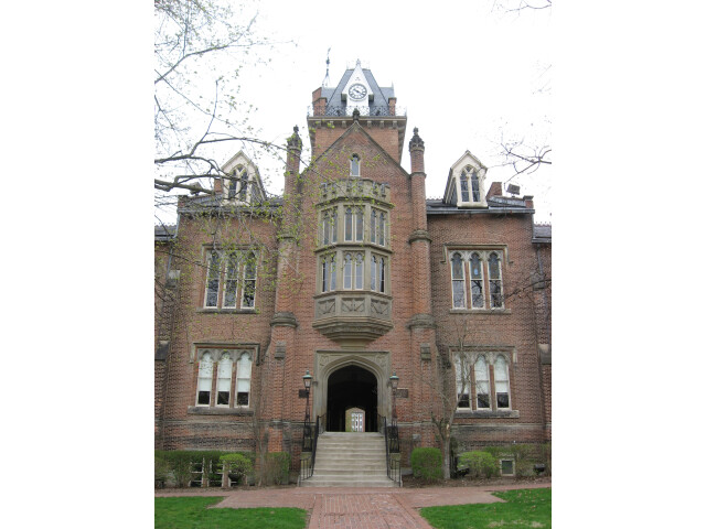Old Main at Bethany College  eastern front image
