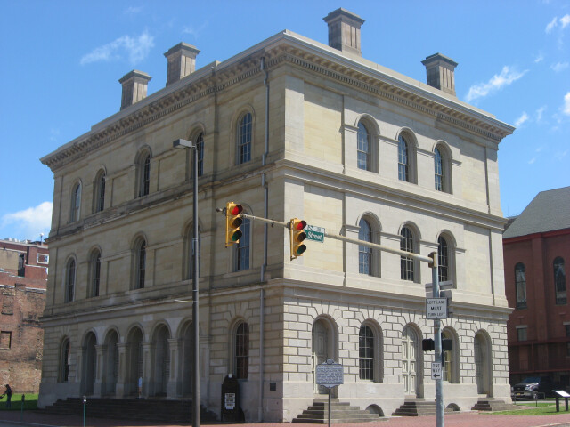 West Virginia Independence Hall from southwest image