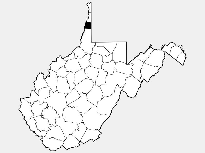 Ohio County location map