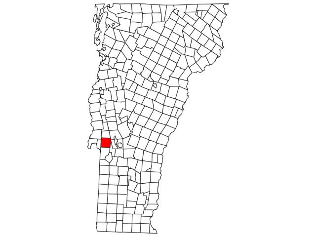 Castleton locator map