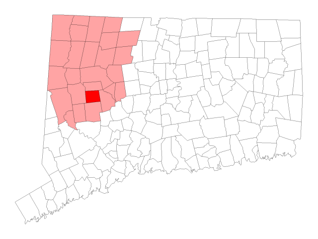Bethlehem locator map