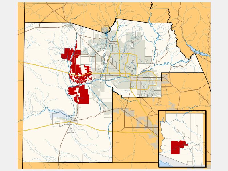 Buckeye locator map