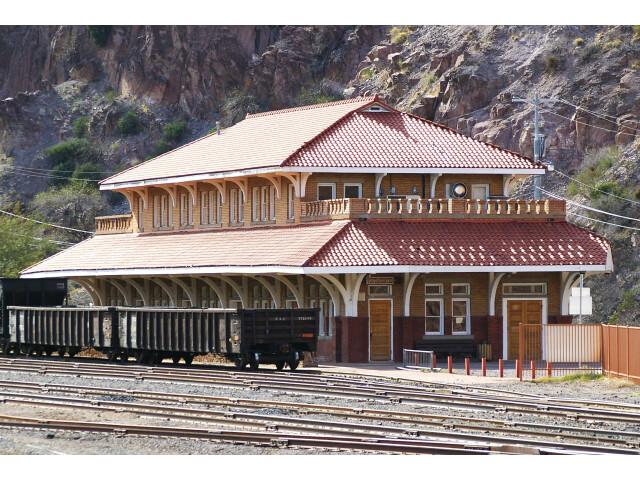 Clifton  AZ train station image