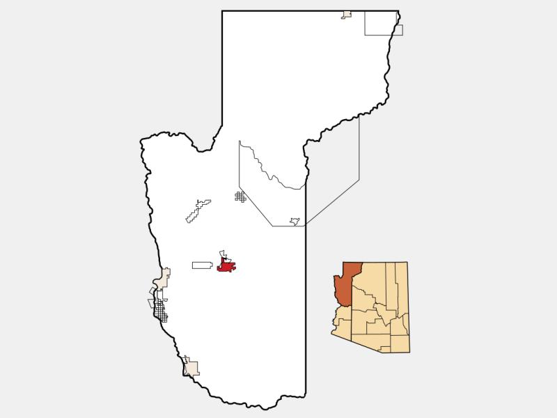 Kingman locator map