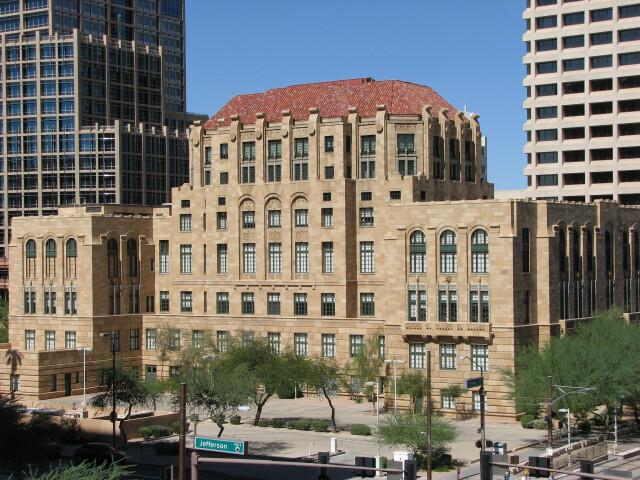 Maricopa County Courthouse October 6 2013 Phoenix Arizona 2816x2112 Rear image