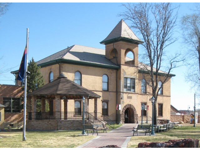 Historic Navajo County Courthouse and Museum cropped image