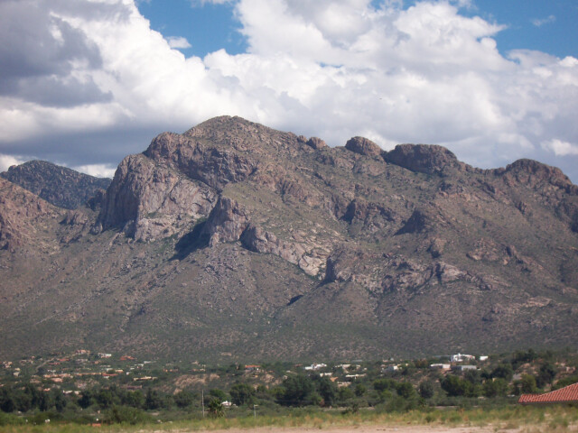 Pusch Ridge from Oro Valley image