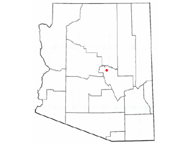 Payson locator map
