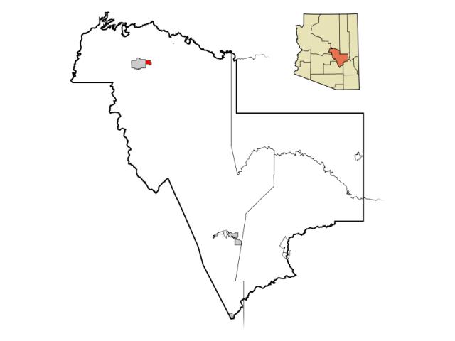Star Valley locator map