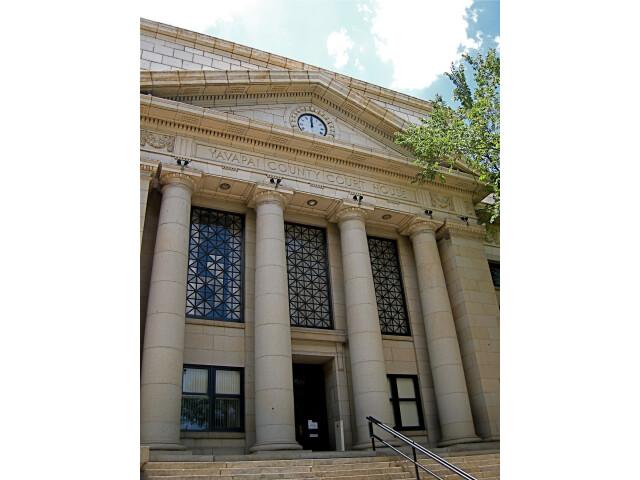 Yavapai county arizona courthouse image