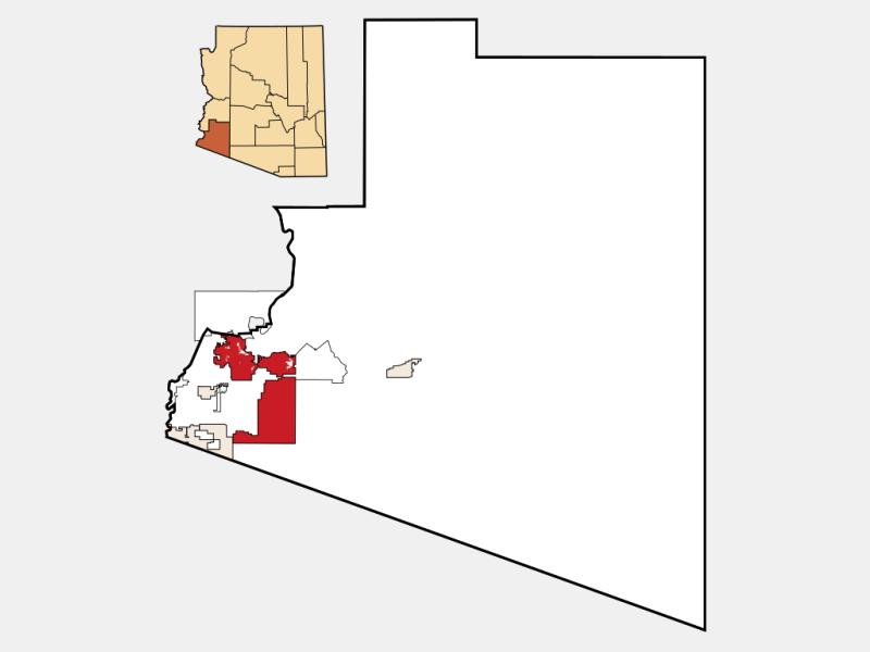 Yuma locator map