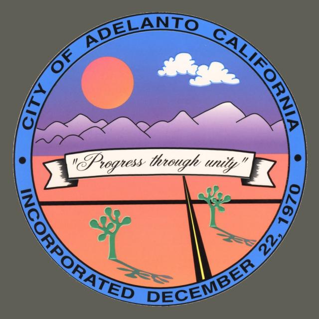 Seal of Adelanto  California seal image