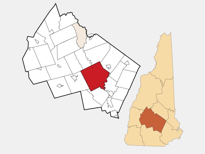 Concord, CA locator map