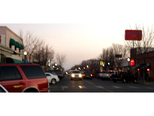 Downtown Delano  California 'crop' '2012-01-29' image