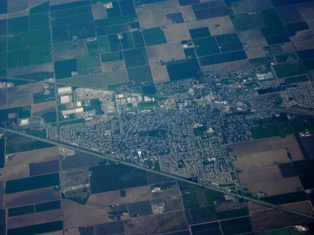 Aerial view of Dixon  California image
