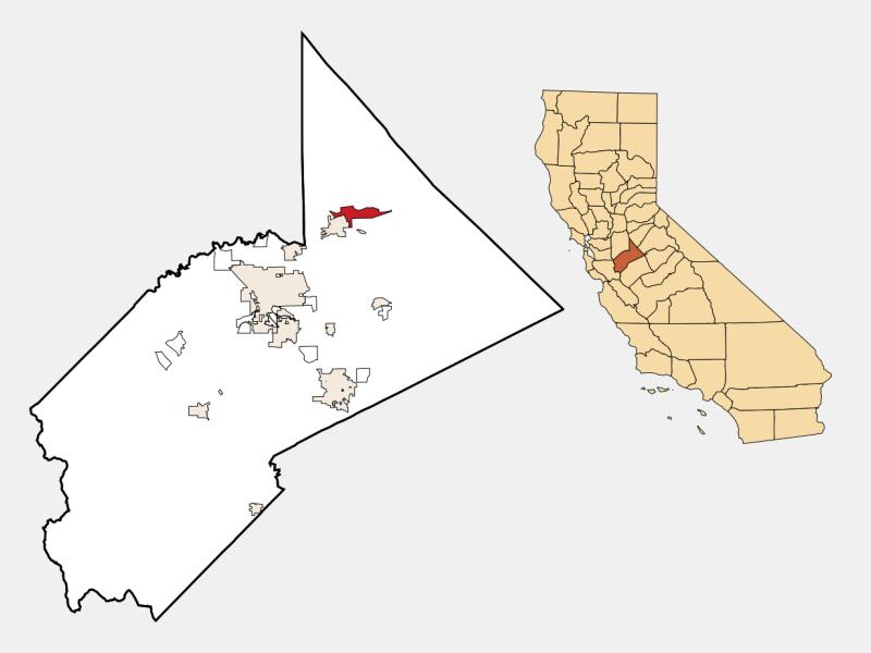East Oakdale location map