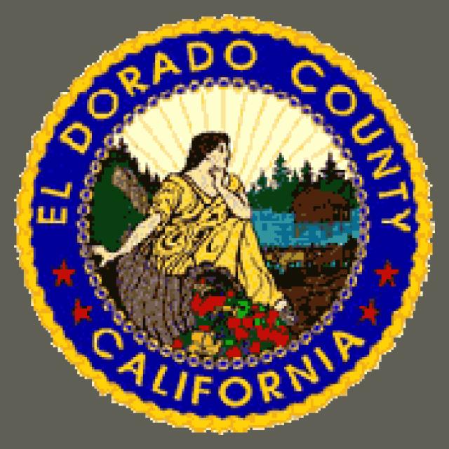 Seal of El Dorado County  California seal image
