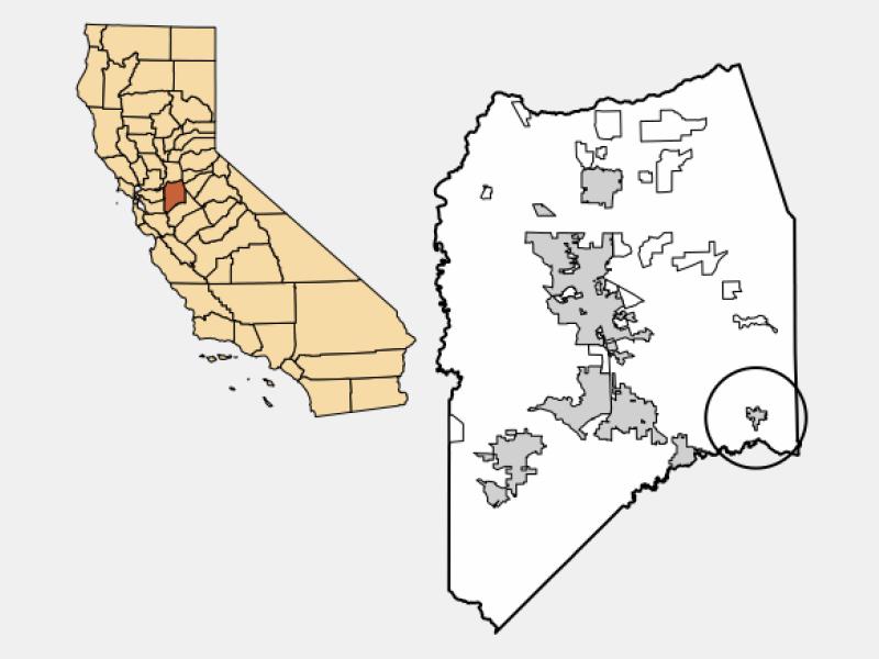 Escalon locator map