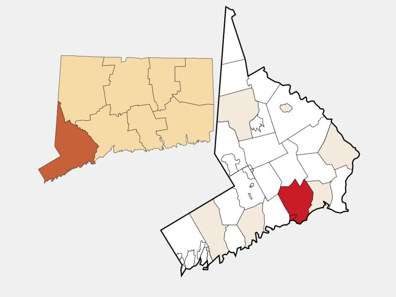 Fairfield, CA locator map