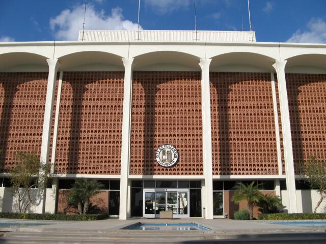 Fullerton city hall image