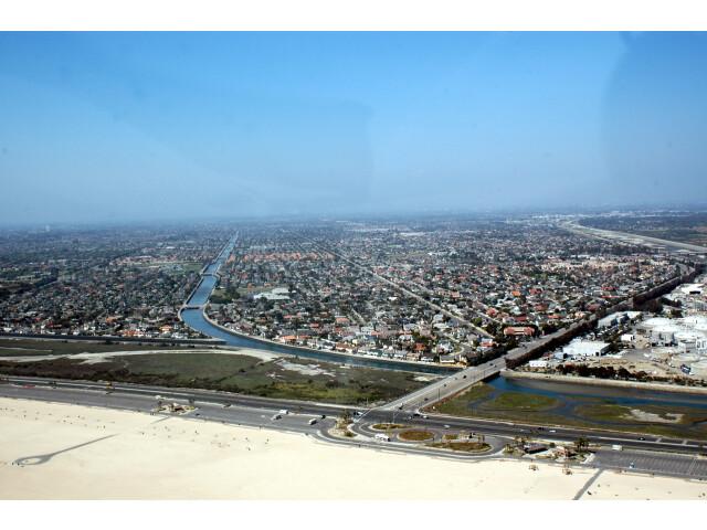 Huntington Beach CA Aerial by Don Ramey Logan image