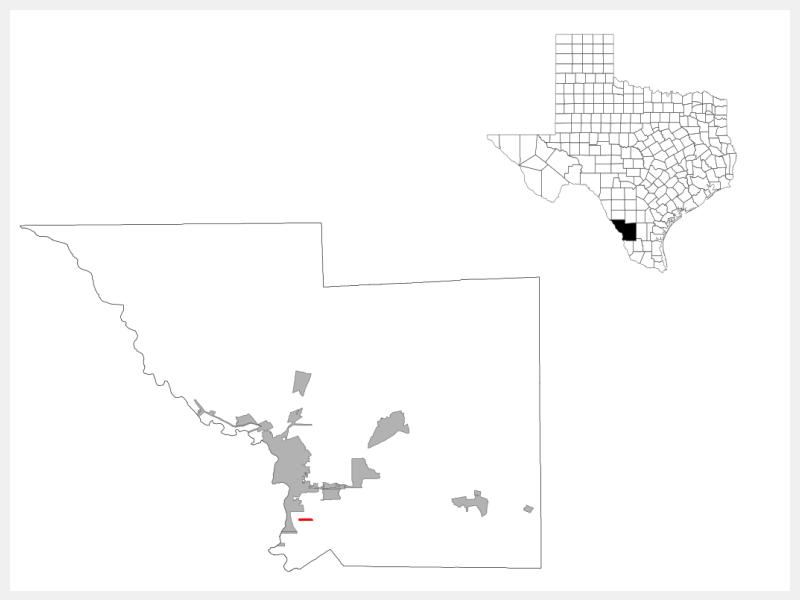 La Presa locator map