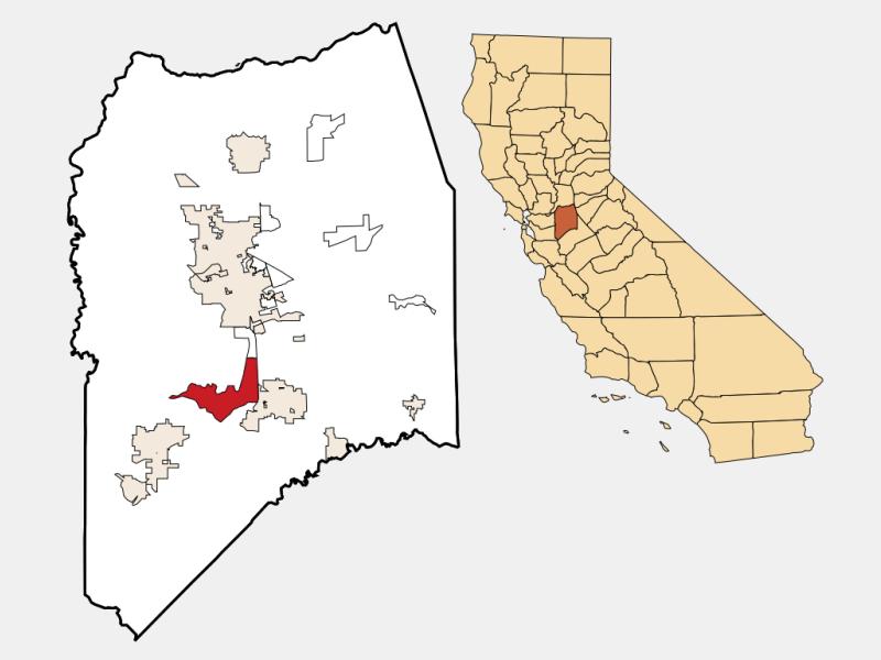 Lathrop locator map