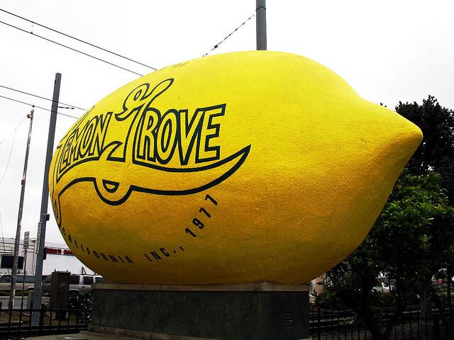 Lemon grove monument image