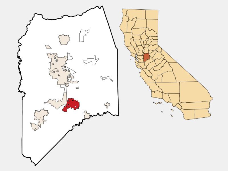 Manteca locator map