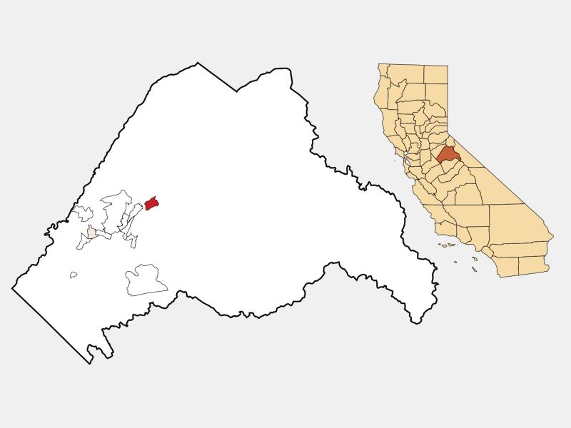 Mi-Wuk Village location map