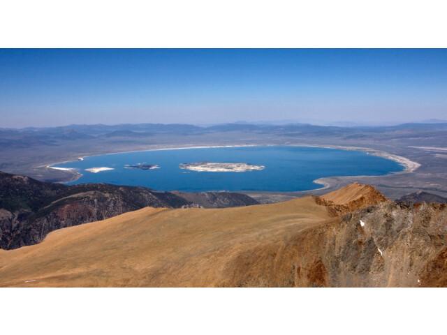 Mono Lake from Mount Dana '1' image
