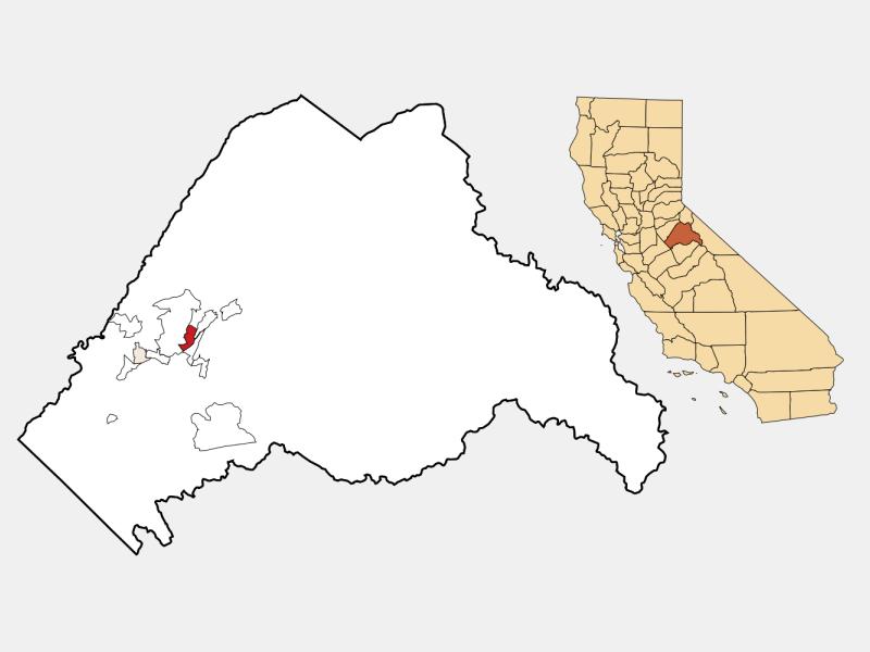 Mono Vista location map