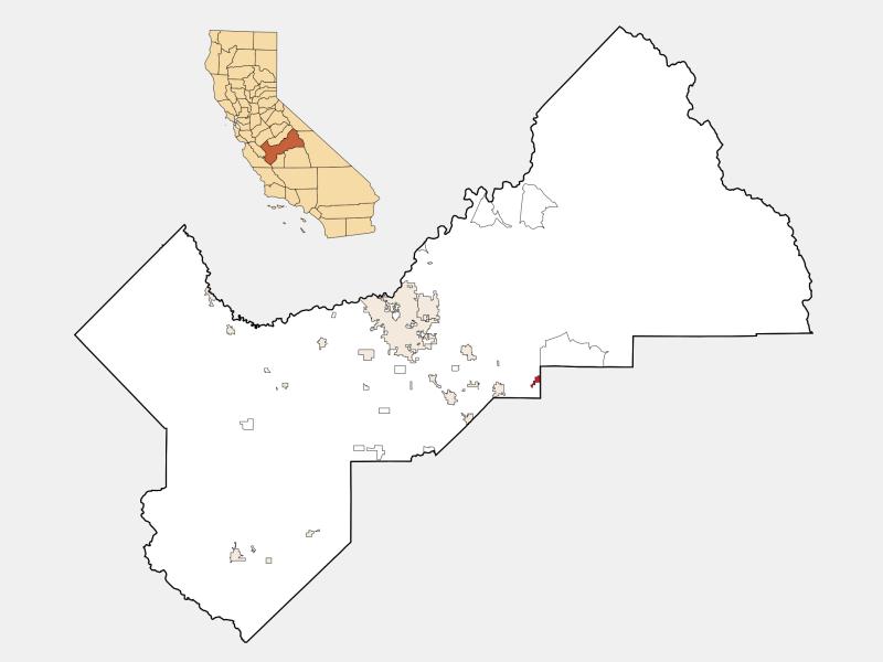 Orange Cove location map