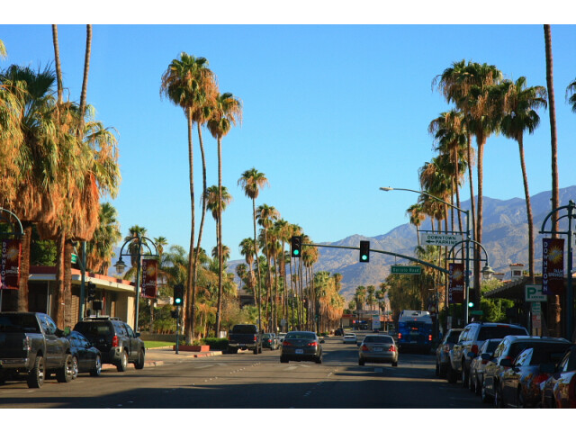 Downtown Palm Springs CA image