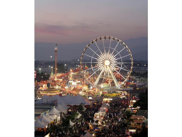 L.A. County Fair at Dusk image