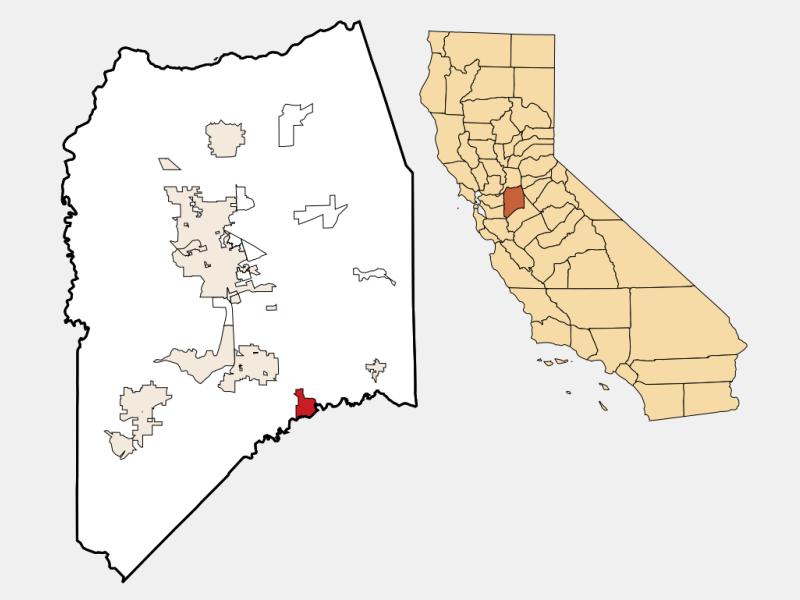 Ripon locator map