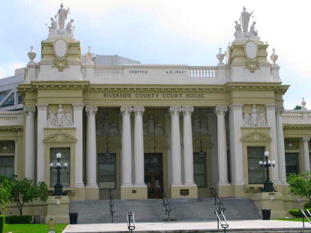 Riverside County Courthouse  1903 image