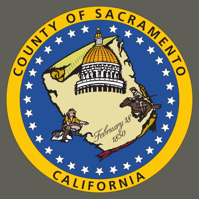 Seal of Sacramento County  California seal image