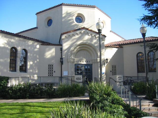 Burlingame Library image