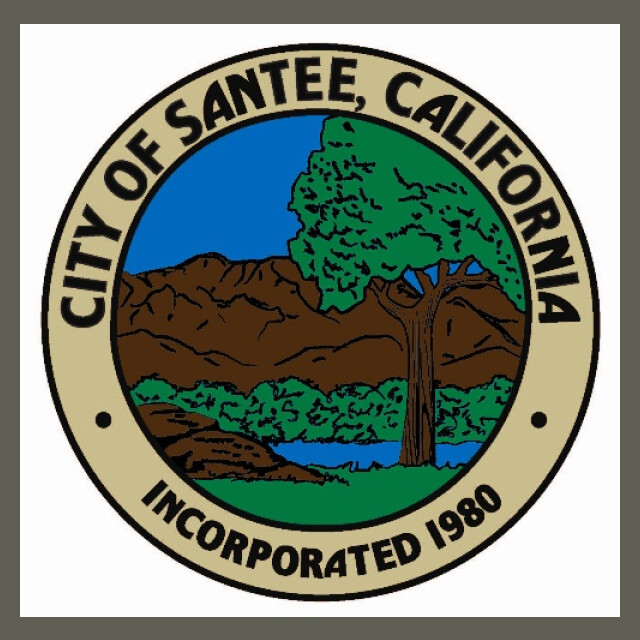 City of Santee  CA Seal seal image