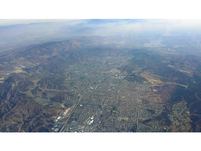 Simi-Valley-Aerial-from-west-with-mountains-August-2014 image