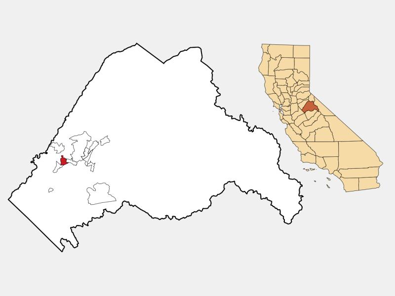 Sonora locator map